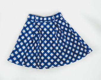 Review Gingham Skirt
