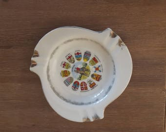 Vintage 1960's Royal Canadian Mounted Police  Ashtray