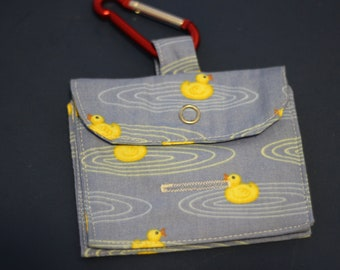 Little Ducky Treat and Poo Bags Bag
