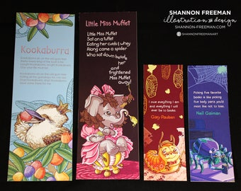 All Bookmarks (4 Pack)