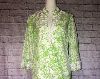 Vintage Lilly Pulitzer Tunic-New With Tags Size 12