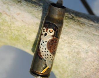 Owl on 7.62mm Casing Bracelet