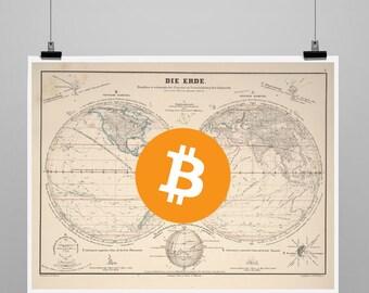 Bitcoin World Poster