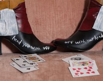queen of hearts heels
