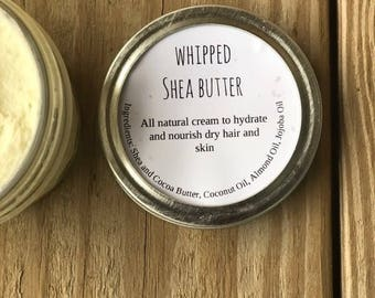 Whipped Shea Butter (8 ounces)