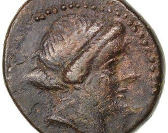 aeolis kyme bronze kyme ef(40-45) bronze bmc #60 6.89