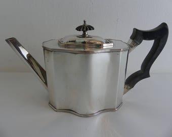 Vintage Old Sheffield Plate Teapot (EI-2 3)