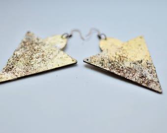 Stardust earrings - Triangle