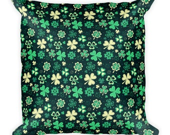 St.Patrick's Day Square Pillow