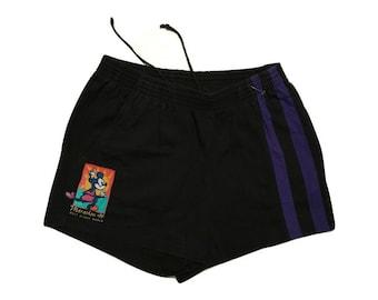 Puma shorts Mickey Mouse shorts vintage 90s - L
