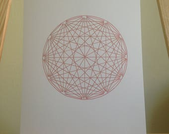 Gold Sacred Geometric
