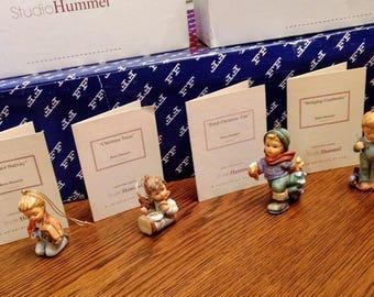 Hummel Christmas Ornaments 1997