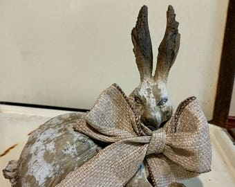Decorative Laying Bunny