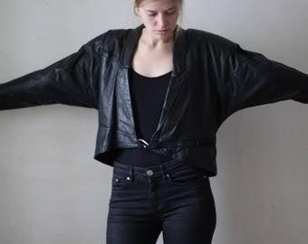 Vintage Korean Leather Jacket