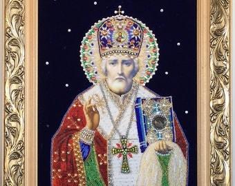Orthodox Icon of Saint Nicolay