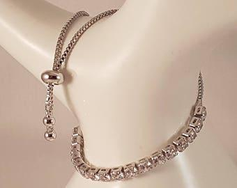 Diamante Toggle Bracelet