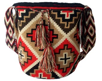 Wayuu Bag-Wayúu Sunset backpack
