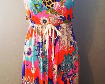 Psychedelic Pop Summer Dress