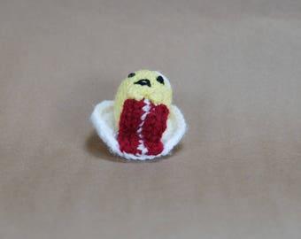 The Lazy Egg Gudetama Crochet Amigurumi