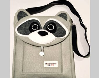 Raccoon Travel Bag