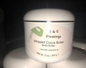 Whipped Cocoa Butter with Lavender