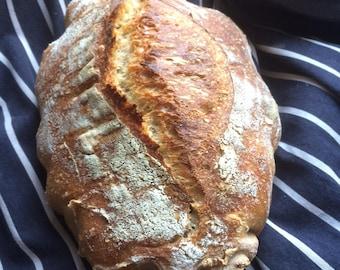 Organic starter for sourdough bread - Lanarkshire wild yeast organic starter - artisan bread - sourdough starter - starter for bread