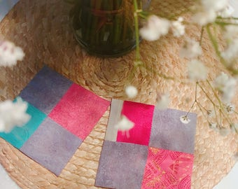 Korean traditional needle craft coasters