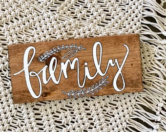 Family sign • READY TO SHIP