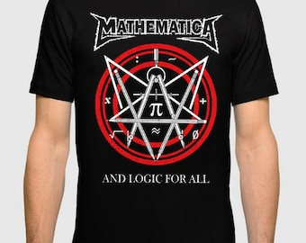 Mathematica 'And Logic For All' T-shirt, All Sizes