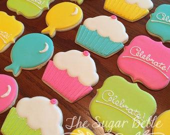 Celebrate Cupcake Sugar Cookies