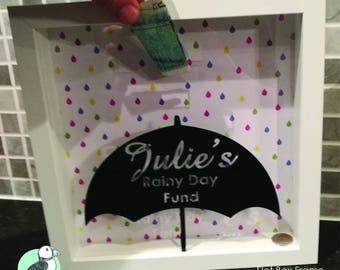 Rainy Day Fund Slot Box Frame
