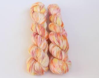 """100 % alpaca Colourway """"Sunny Alpaca"""", 50 g- 165 m, Handdyed yarn, indiedyed yarn, пряжа ручного крашения, пряжа ручной работы, yarn"""