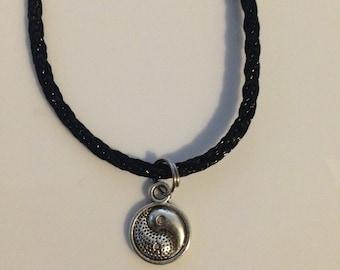 Yin Yang Charm Necklace