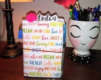 Encouraging Words Travelers Notebooks (Pocket Size)