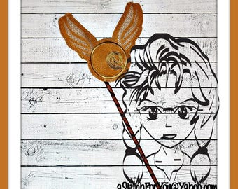 "HP ""FLYiNG SNiTCH"" 4 Themed Holiday Party PHoTO PRoP 4 Parties and Games ~ In the Hoop ~ Downloadable DiGiTaL Machine Emb Design by Carrie"