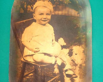 """ANTIQUES BABY PHOTO 16"""" By 10"""""""