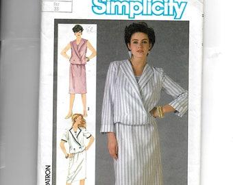Simplicity Misses'  Blouson Dress Pattern 6795