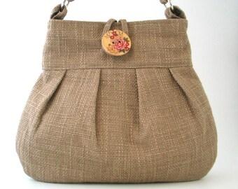 shoulder tote bag, vegan  bag,  fabric tote purse, crossbody bag, tote handbag, messenger bag, cross body bag, diaper bag, ready to ship