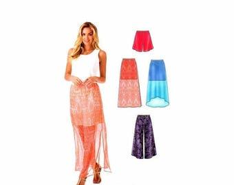 SALE Misses Skirt Shorts Pants New Look 0451 Sewing Pattern Size 6 - 8 - 10 - 12 - 14 - 16 - 18 UNcut
