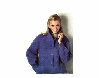 SALE 1970s Misses Unlined Jacket Simplicity 9179 Vintage Sewing Pattern Size 8 - 10 - 12 OR Size 10 - 12 - 14 UNCUT