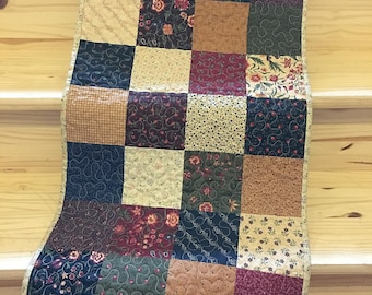 Table Topper Runner Patchwork Rustic Country Primitive Home Decor Quilted  Handmade