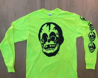 The Friendly Skull Long Sleeve Tee Shirt