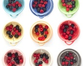 Berry Bowl - Fruit Strainer - Stitch - 3 sizes - MADE TO ORDER