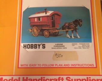 Hobby's Lodge Caravan Gypsy Wagon