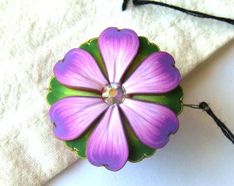Lavender Flower Needle Minder Magnetic Sewing Needle Notions