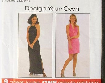 30% OFF SALE Misses Sewing Pattern Simplicity 8015 Misses Knit Dress Pattern Size 16, 18, 20 Uncut