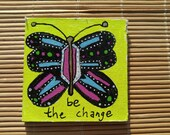 Inspirational butterfly kitchen Magnet