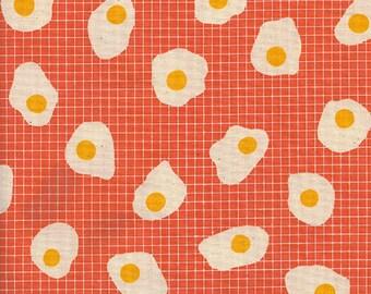 Cotton + Steel Welsummer - fried eggs - sweet orange - 50cm - PRE-ORDER