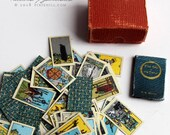 Miniature Boxed Tarot Cards and Book