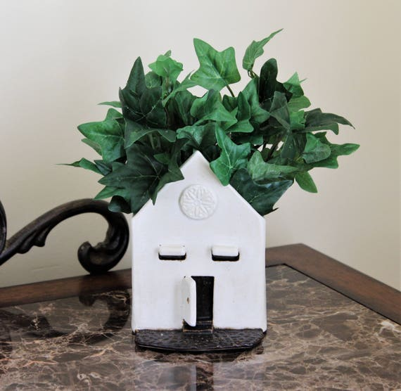 Succulent Planter - Ceramic Planter - Cactus Planter - House - Housewarming - Stoneware Planter - Pottery Planter - Cute Planter - Handmade